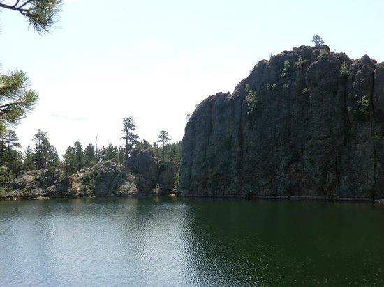 Legion Lake nahe dem Staudamm