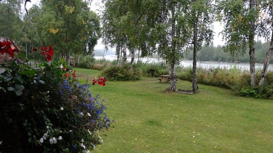 Susitna River Lodging: View from our porch