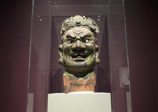 Rubin Museum of Art: Head of Guardian King