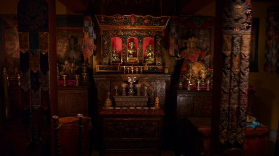 Rubin Museum of Art: Tibetan Buddhist Shirne Room