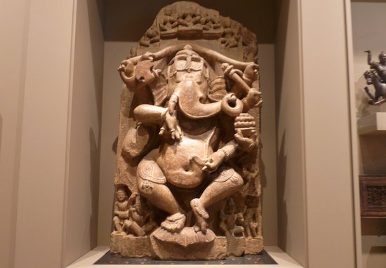Rubin Museum of Art: Dancing Ganesha