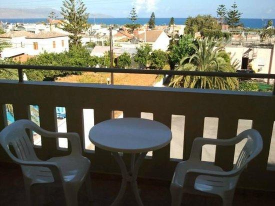 Hotel Amaryllis: balcone con affaccio su piscina/giardino