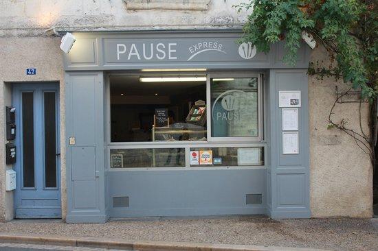 Pause Express: façade