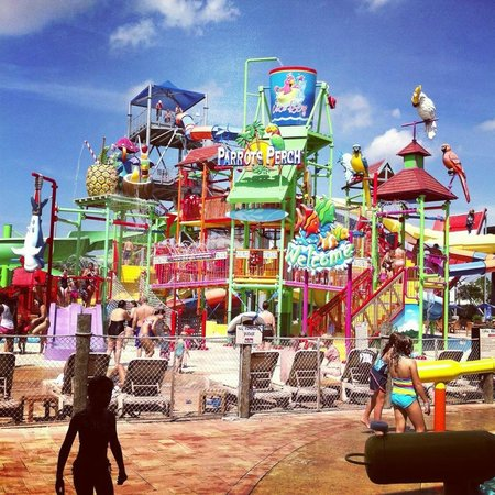 Coco Key Hotel and Water Park Resort : Coco Key Waterpark area