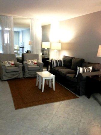 Gulf Winds Resort Condominium: Gulf Winds Resort unit 1501 living room