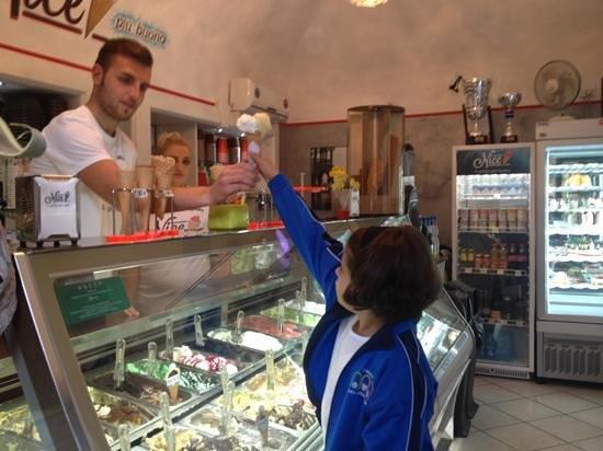 Gelateria Nice: Nice,il gelato più buono
