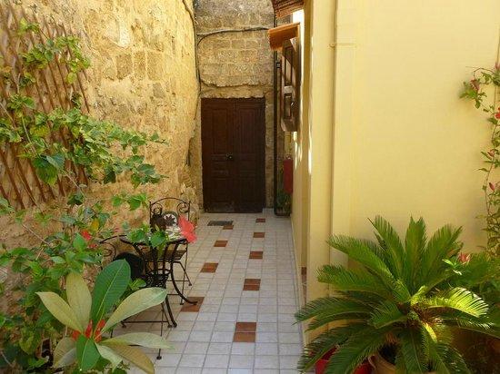 Petrino Boutique Hotel: ingresso