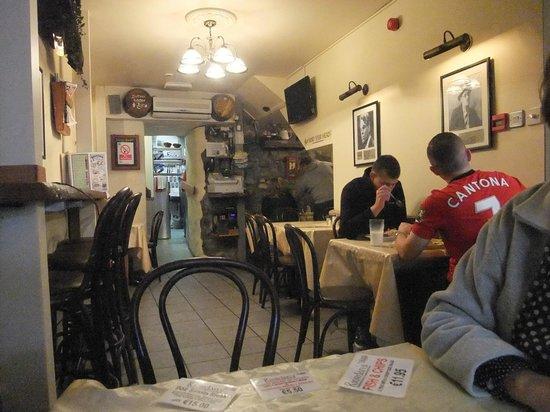 Riordan's: Inside the restaurant