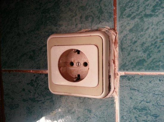 Marina Apart Hotel: More dangerous sockets