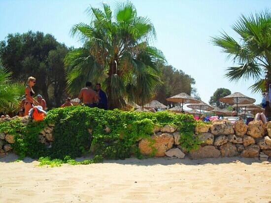Cleopatra Island : famous beach