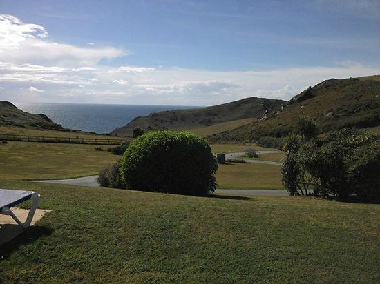Soar Mill Cove Hotel: This was the view from our room