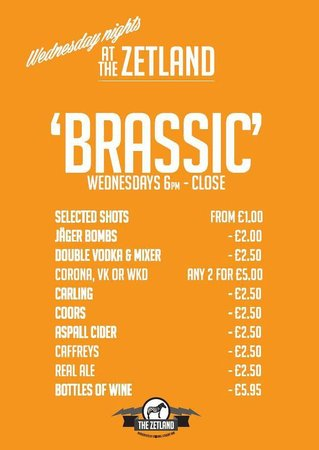 The Zetland: Wednesdays