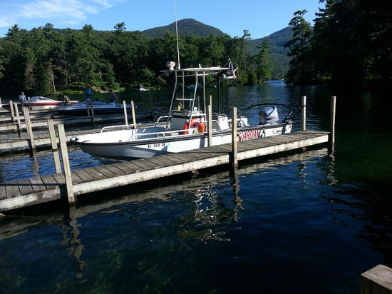 FR Smith & Sons Marina: In the State Park at Lake George