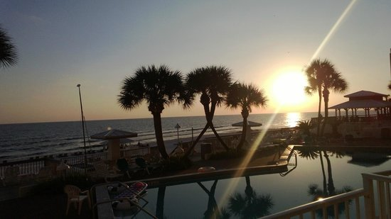 Palmetto Inn & Suites: Beautiful Sunset