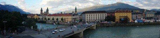 Hotel Mondschein: View from our room