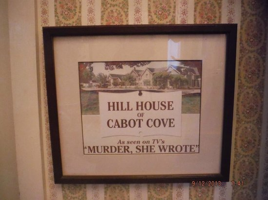 Hill House Inn: memorabilia