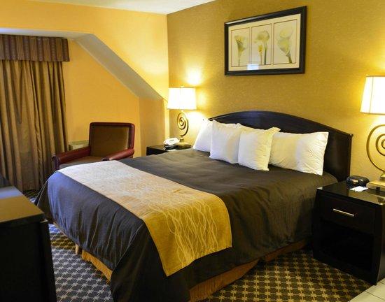 Quality Inn : New bedding