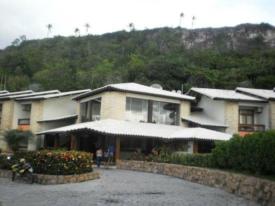 Quinta do Sol Praia Hotel: A frente do hotel