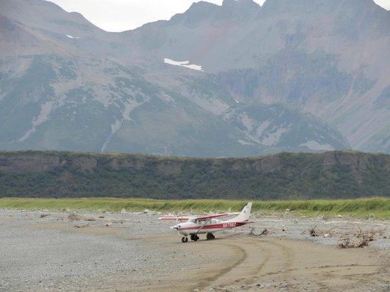 Alaska Bear Adventures: The landing strip.