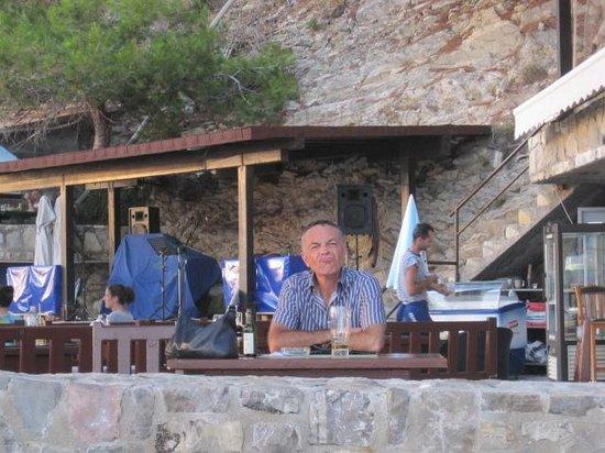 Villa Ferri : The restaurant terrace