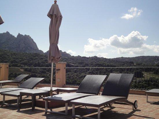 Hotel Parco degli Ulivi : Mooi uitzicht bij het zwembad