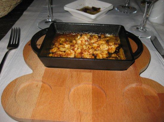 Palmetto Resort Hotel : Underlig aftensmad. Det eneste der blev serveret.