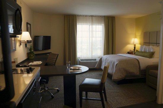 Candlewood Suites Harrisburg Hershey : Single Queen Studio Suite