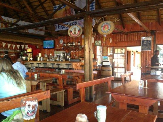 Kiara Lodge: Great german pub/restaurant in Clarens, Rogen Koch
