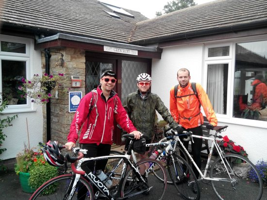About to set off from Greycroft after a great rest