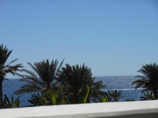 Constantinou Bros Athena Beach Hotel: Ausblick vom Balkon