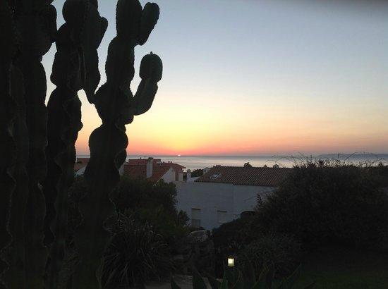 El Cortijo de Zahara: Vista de la Playa desde el Hotel