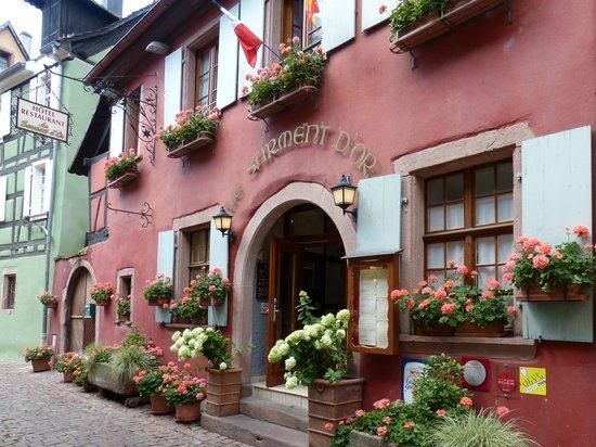 Außenansicht Restaurant le Sarment d'Or