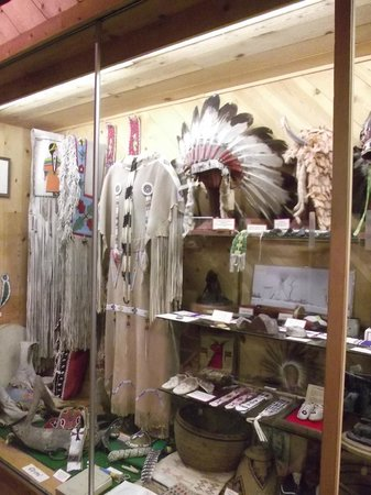 Trees of Mystery: Museum in the gift shop
