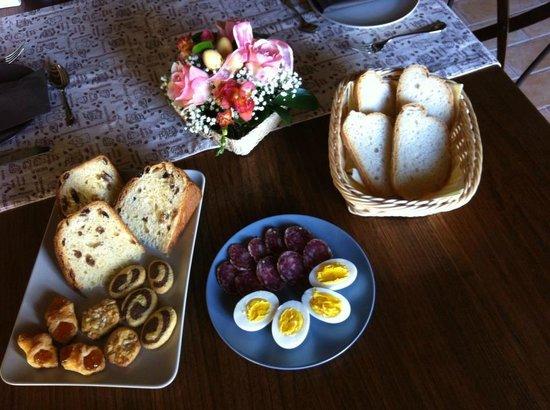 Corte del Sasso Room and Breakfast: Colazione di Buona Pasqua