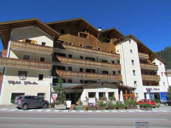 Hotel Italia : Vista dell'albergo