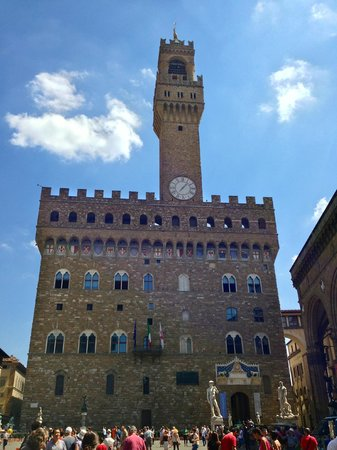 Borghese Palace Art Hotel: palazzo vecchio