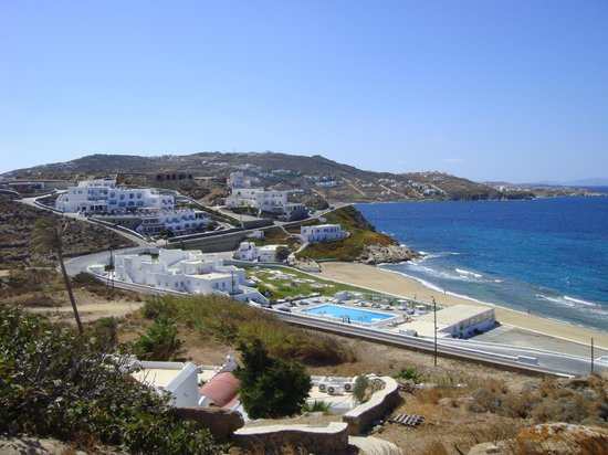 Villa Margarita Mykonos : vista from the property