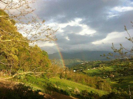 Corte del Sasso Room and Breakfast: Panorama_arcobaleno