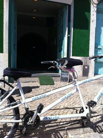 Rent a Fun - Electric Bike tours & Rentals: twin bike for rent
