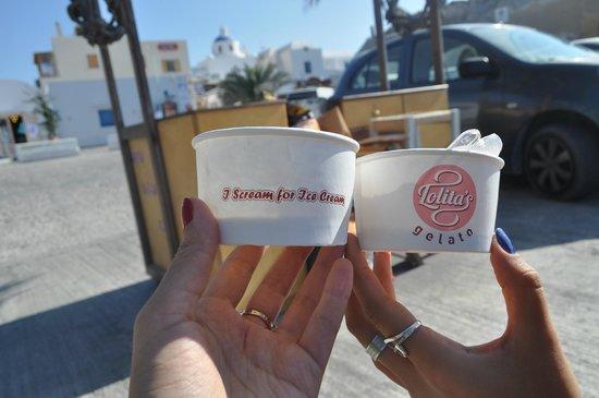 Lolita's Gelato : Мороженое