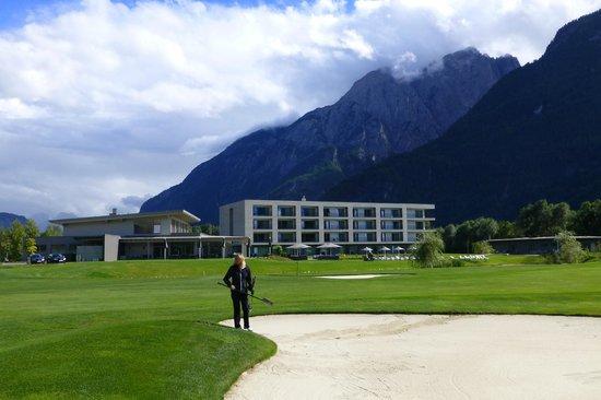 Dolomitengolf Suites: Hotel direkt am Golfplatz