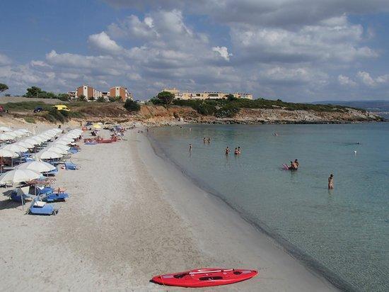 Hotel Punta Negra: The beach of the hotel