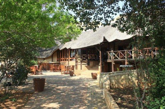 Lionsrock Big Cat Sanctuary: Main lodge at Lionsrock