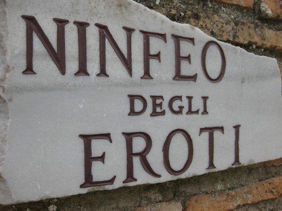 Ostia Antica: Ninfeo degli Eroti.