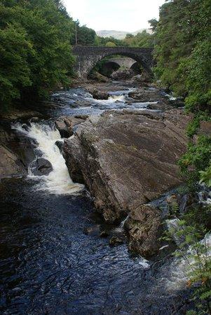 Invermoriston Falls: The Falls and main bridge