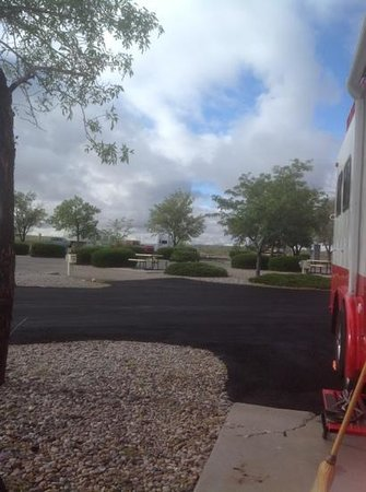 American RV Park: our location