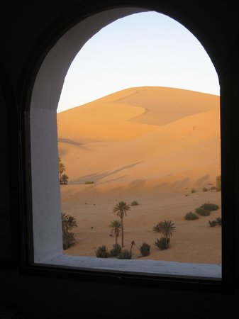 Taghit, Algerien: View from the living room area
