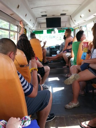 One Love Bus Bar Crawl: On the bus