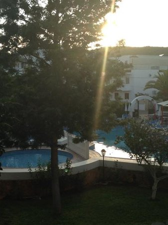 Can Sanso: view from our apartment