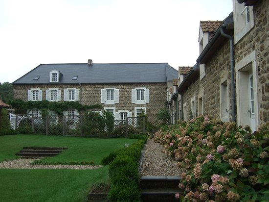 Appart'hotel Le Canville : de prachtige binnentuin